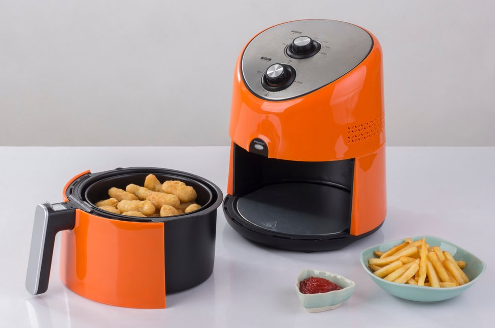 An air fryer