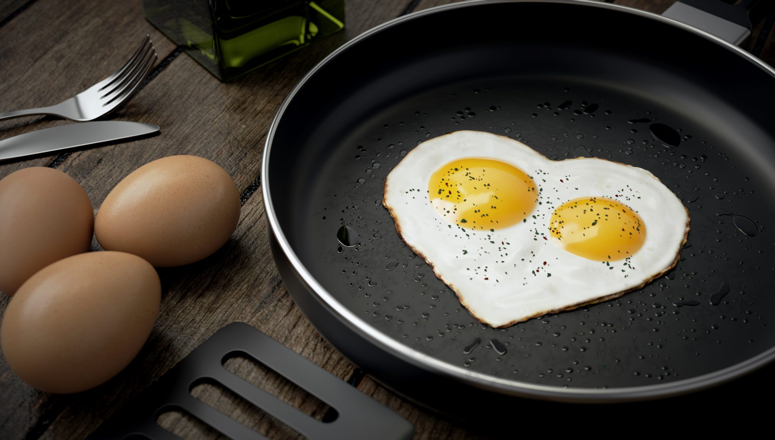 how to make eggs not stick
